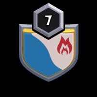 BLACK PANTHÈRE badge