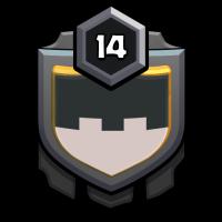Magyarok badge