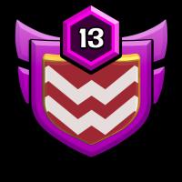 Hun badge