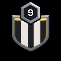 WAR KING badge