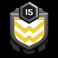 白金趴 badge