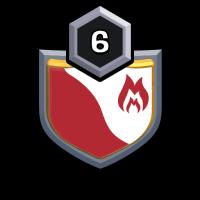 INDO KING COBRA badge
