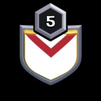 Rojend badge